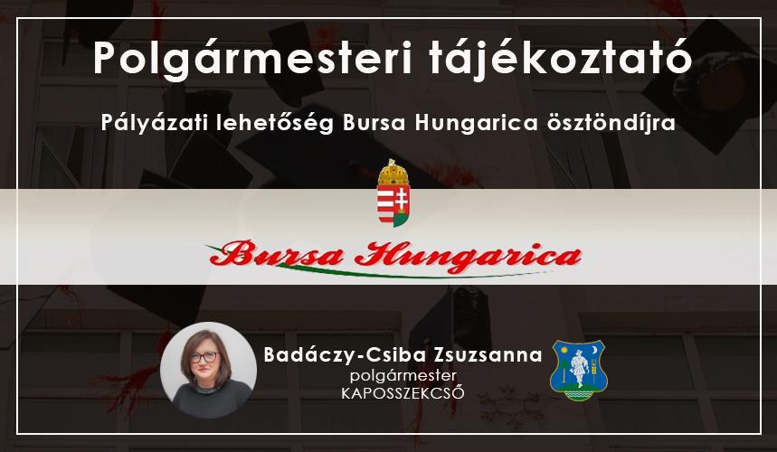 BURSA HUNGARICA 2021